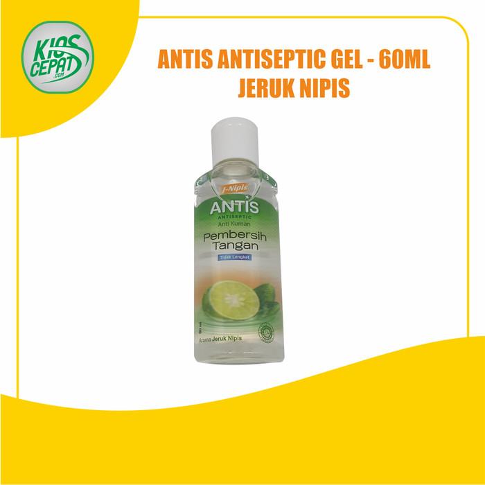 Foto Produk ANTIS Hand Sanitizer Antiseptic GEL 60ml - Jeruk Nipis dari KiosCepat