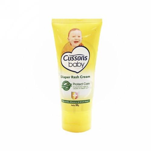 Foto Produk CUSSONS BABY DIAPER RASH CREAM 50 GRAM dari Apotik Harrison Gandoang