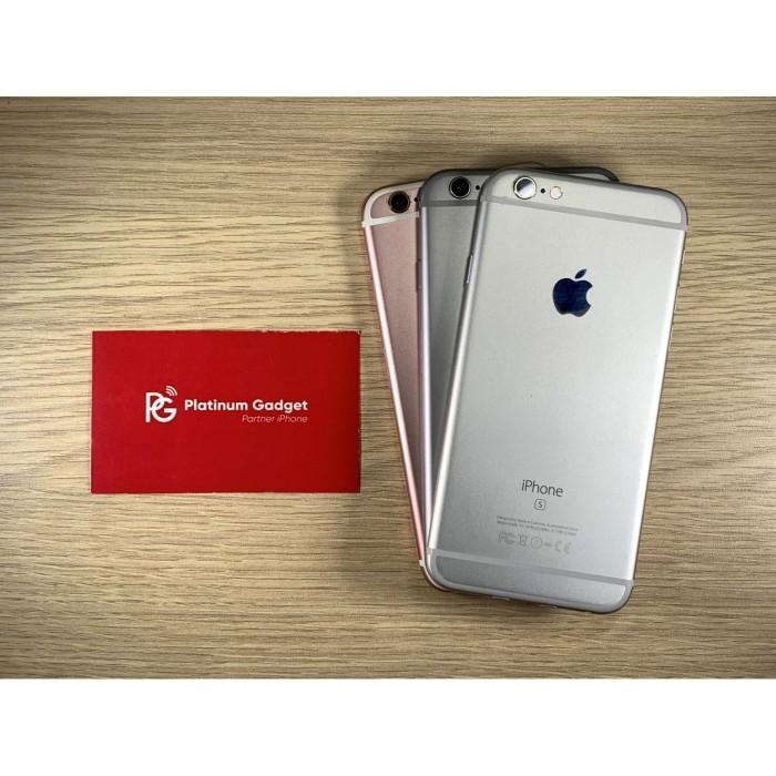Foto Produk Second iPhone 6S 128GB Global - Silver dari Platinum Phone Malang