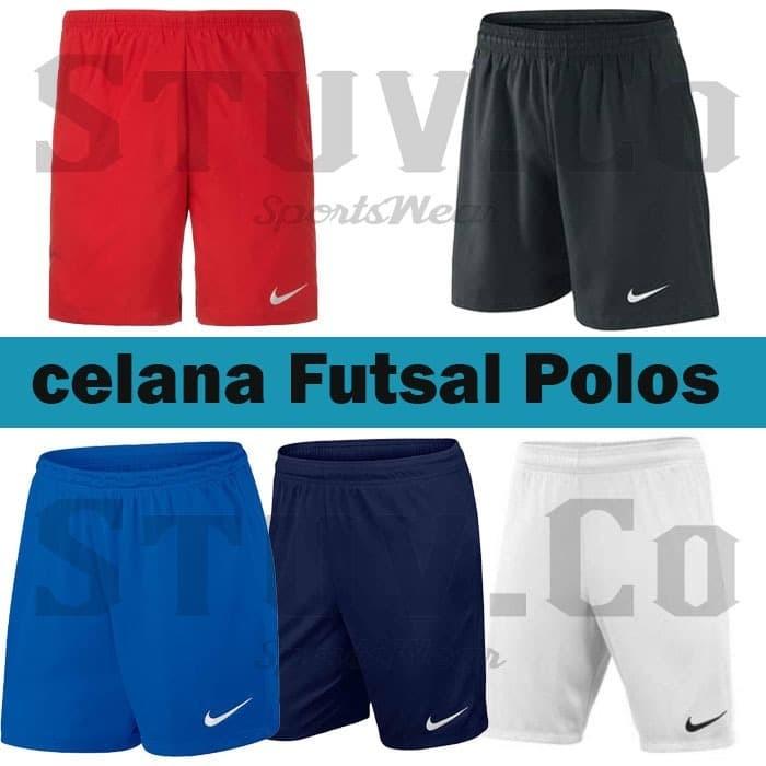 Jual Celana Bola/ Futsal / Running Nike Hitam-Merah-Biru