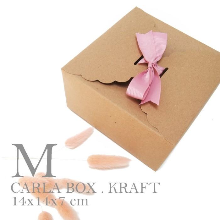 Foto Produk BOWL BOX / Box souvenir mangkok / Box kue / Cookie Box (14x14x8cm) dari fave paper