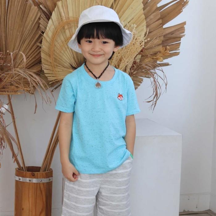 Foto Produk Kaos Polos Anak - Anak | L055 Galaxy Basic Tee by Little Jergio - 2XL dari Little Jergio