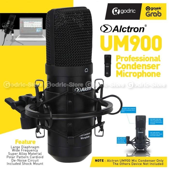 Foto Produk ALCTRON UM900 USB Condenser Microphone Recording Mic Recording Podcast dari Godric Store