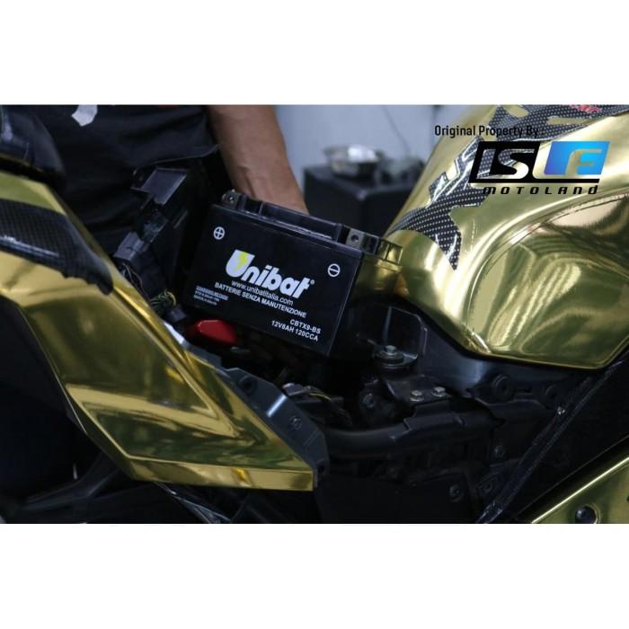 Foto Produk Aki ER 6F/6N 06-10 Unibat Ori Itali dari Candi Motor