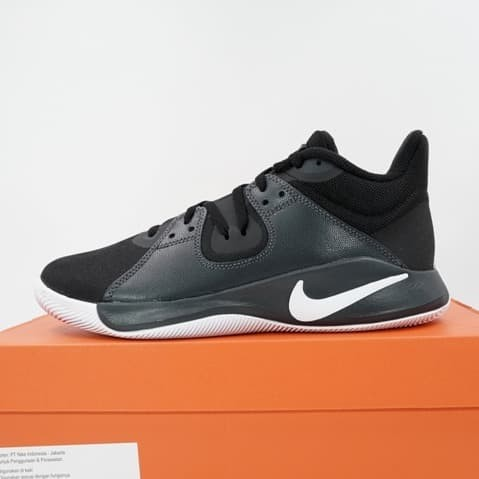 Foto Produk Sepatu Basket Nike Flyby Mid Black White CD0189-001 Original BNIB dari KING OF DRIBBLE