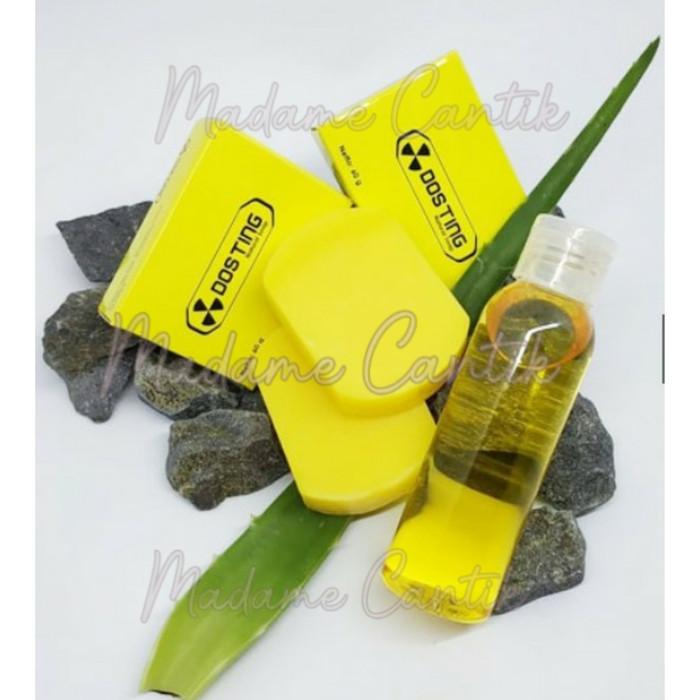 Foto Produk SABUN DOSTING ORIGINAL BPOM / DOSTING WHITENING SOAP / SABUN PEMUTIH - KUNING NATURAL dari MADAME CANTIK