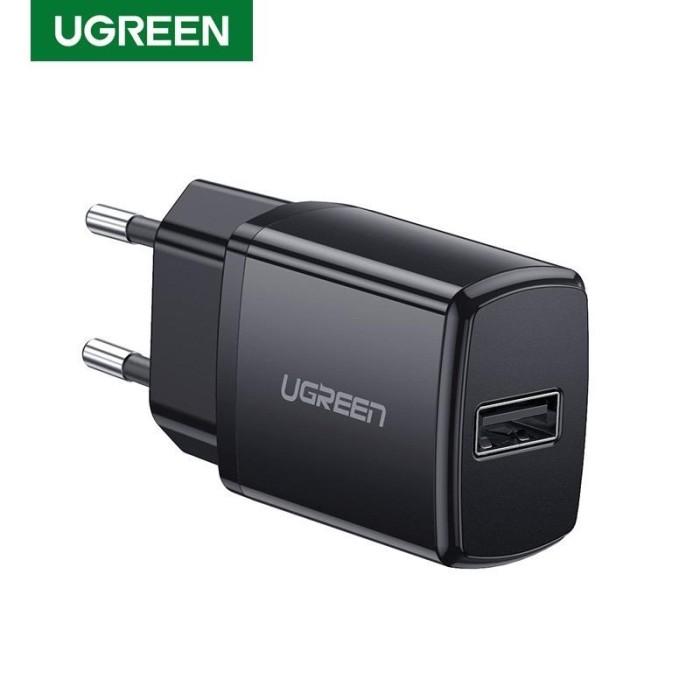 Foto Produk Ugreen 5v 2,1A USB wall mini Charger Black 50459 dari Ugreen ID