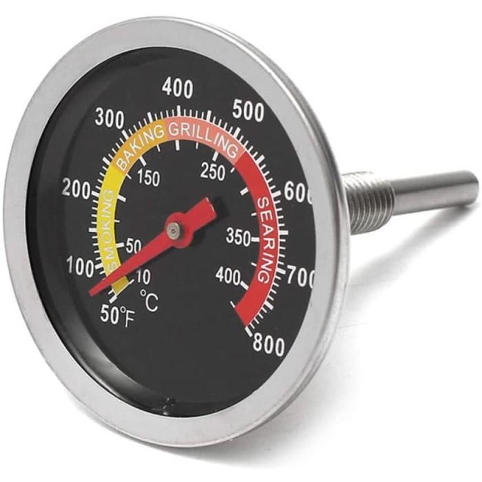 Foto Produk Termometer Oven Food Frying Thermometer Grill Barbecue BBQ Bimetal dari HRDIK
