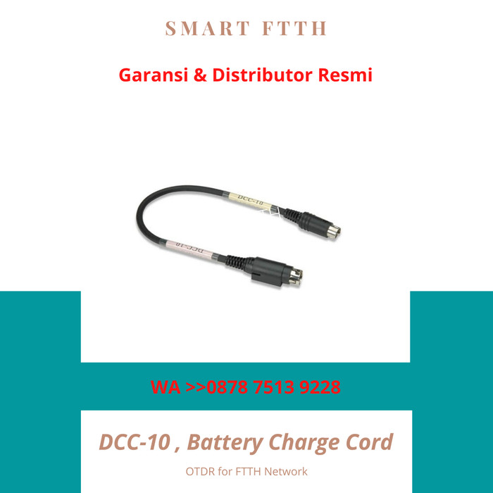DCC-10 Battery Charge Cord for BTR-06