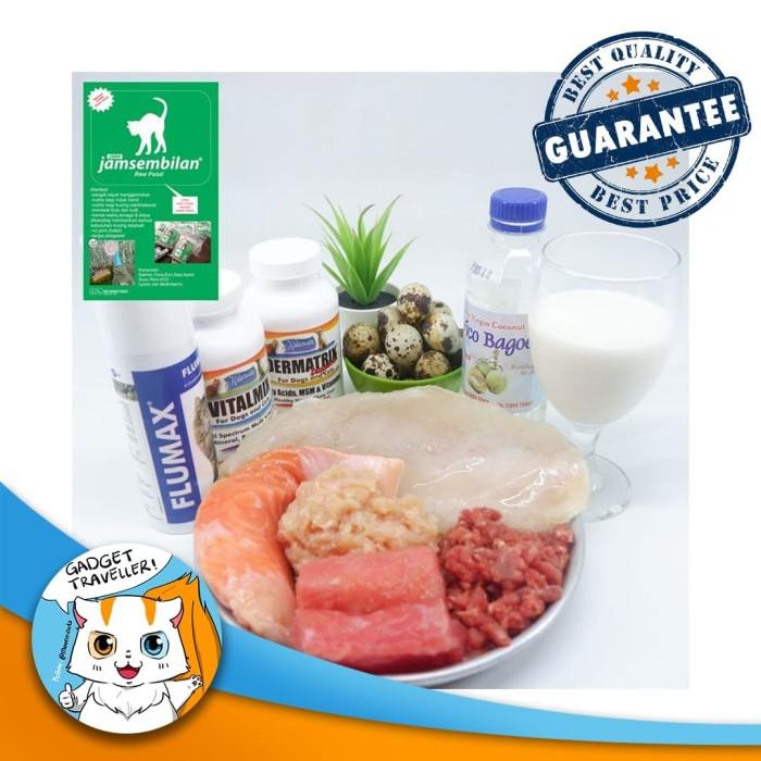 Jual Jamsembilan Raw Food Jsrf Makanan Kucing Cat Kota Depok Gadget Traveller Tokopedia
