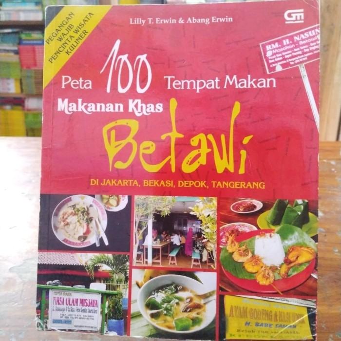 Jual Peta 100 Tempat Makan Makanan Khas Betawi Di Jakarta Bekasi Depok Tang Kota Surabaya Hellton Tokopedia