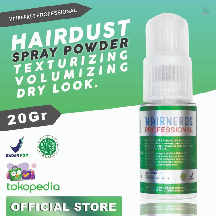 Foto Produk Hairnerds Professional Freestyle Dust Powder dari Hairnerds Professional