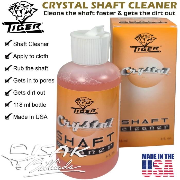 Foto Produk Tiger USA Crystal Shaft Cleaner Liquid - Alat Cue Tool Stick Billiard dari ISAK Billiard Sport Co.