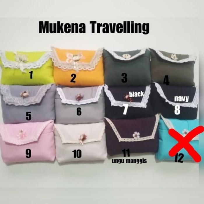 Foto Produk Murah Mukena Traveling katun silky korea dari Pakaian Muslim FAIRIZKA
