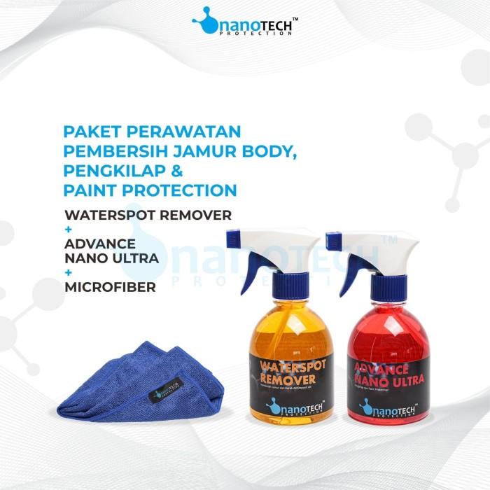 Foto Produk PAKET PERAWATAN PEMBERSIH JAMUR BODY, PENGKILAP & PAINT PROTECTION dari Nanotech Protection