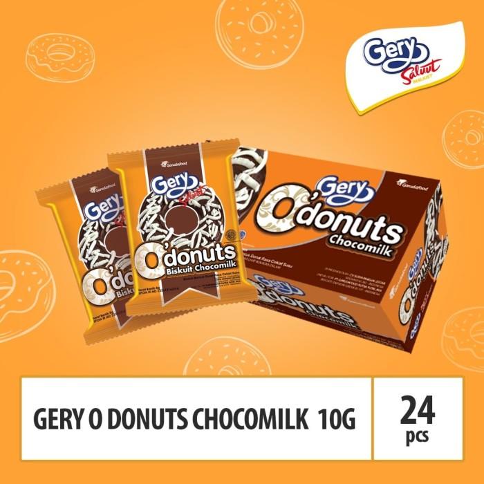 Foto Produk Gery o donuts chocomilk -10g By GarudaFood (JATOP4) / Box dari GarudaFood