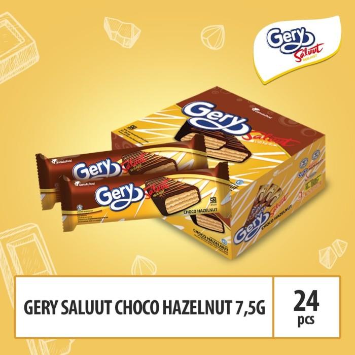 Foto Produk Gery Saluut Choco Hazelnut - 7,5 (CSP4HZ) / Box dari GarudaFood