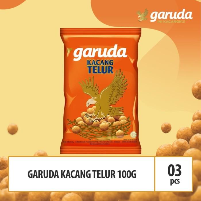 Foto Produk Garuda Kacang Telur - 100g x 3 Pcs (TGD) dari GarudaFood