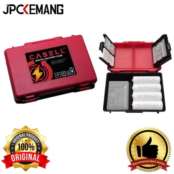 Foto Produk Battery Case & Memory Case Casell Storage Case Holder ORIGINAL dari JPCKemang