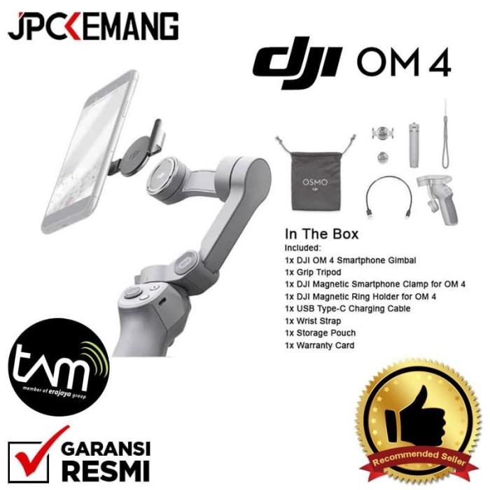Foto Produk Gimbal Stabilizer HP Smartphone DJI Osmo Mobile 4 DJI OM 4 GARANSIRESM dari JPCKemang