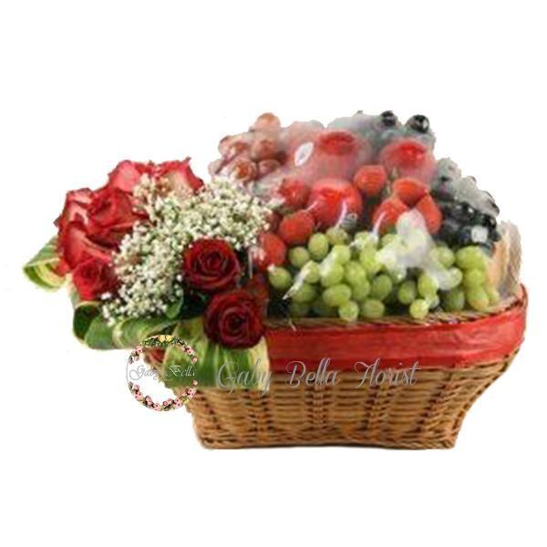 Foto Produk Parcel Buah – 208 parcel buah cantik parcel makanan parcel pemberian dari Gabybellaflorist