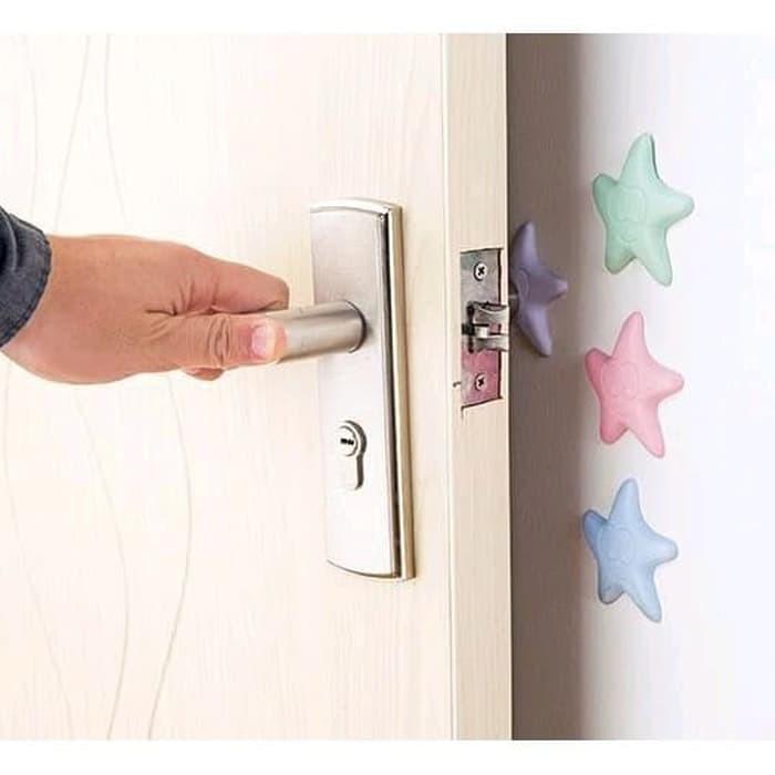 Foto Produk Bantalan Peredam Benturan Gagang Pintu dan Perabot Motif Bintang Laut dari Ramayana Grosir