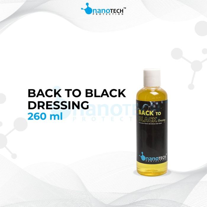 Foto Produk Back To Black Dressing Semir Ban Hitam Hydrophobic dari Nanotech Protection