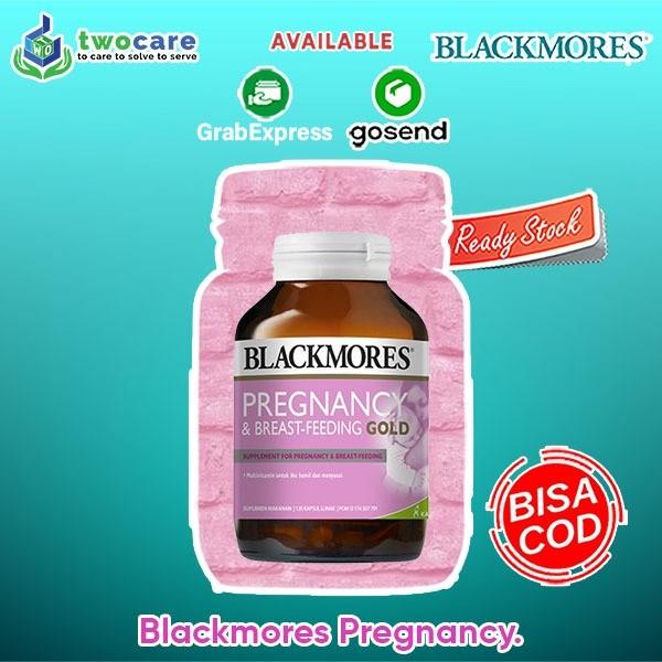 Jual Blackmores Pregnancy And Breastfeeding Gold Bpom Kalbe 180 Kapsul Kota Medan Muscle Nutrition Tokopedia