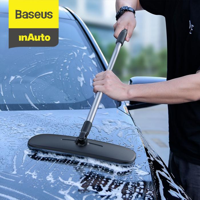 Foto Produk BASEUS HANDY CAR HOME DUAL-USE MOP MOBIL MOP CUCI MOBIL LAP MOBIL - Putih dari Baseus Auto Life