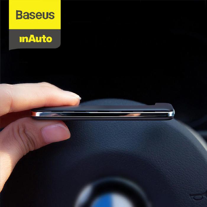 Foto Produk BASEUS PADDLE CAR AIR VENT FRESHENER PEWANGI MOBIL PARFUM MOBIL - Hitam dari Baseus Auto Life