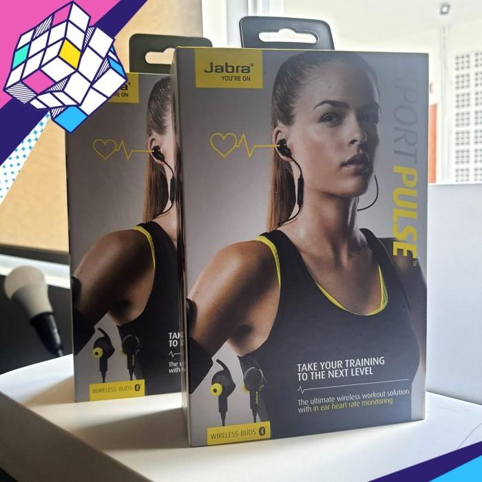 Foto Produk JABRA Sport Pulse Wireless Buds / earphone / headphone dari Kubic Store