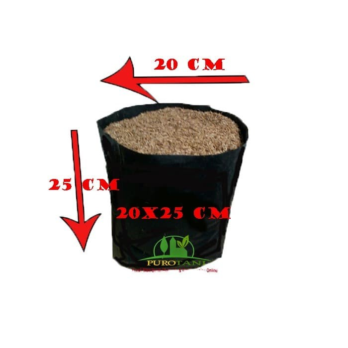 Foto Produk Polybag HD Ukuran 20X25 CM 1KG Polibek 20 x 25CM dari Purotani
