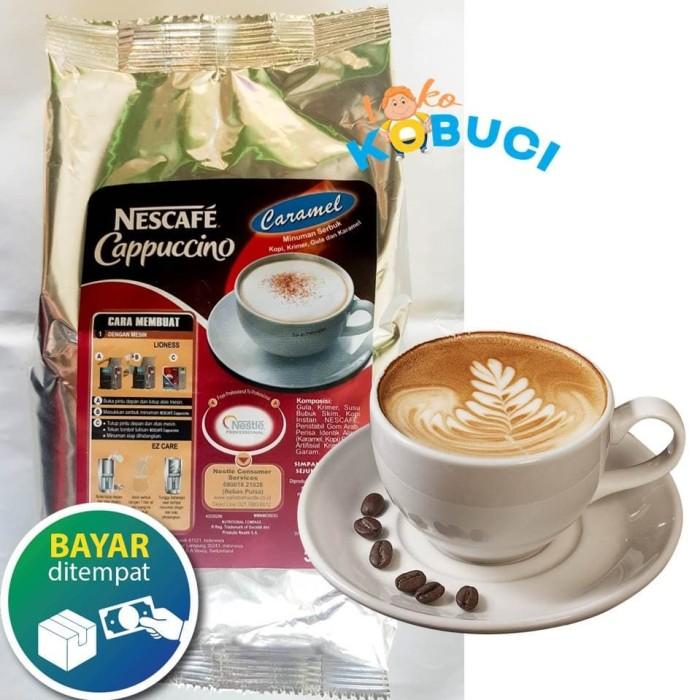 Foto Produk Nestle Nescafe Cappucino Caramel 500 gr dari Toko Kobuci