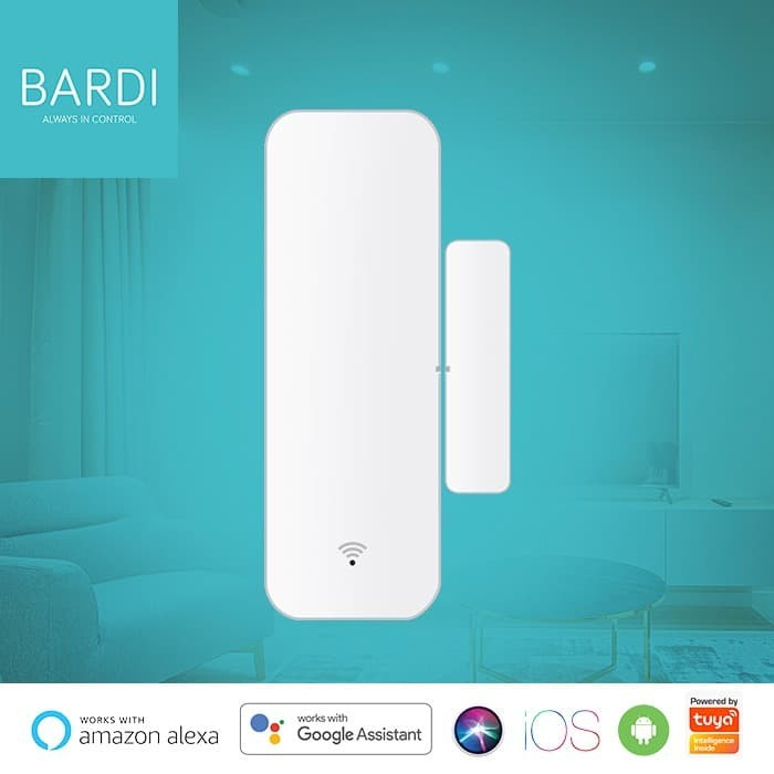 Foto Produk Bardi Smart Home WIFI Window & Door Sensor - no hub required dari Bardi Official Store