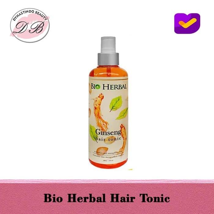 Foto Produk BIO HERBAL HAIR TONIC / BIO HERBAL GINSENG HAIR TONIC - BPOM dari Dynastindo Beauty