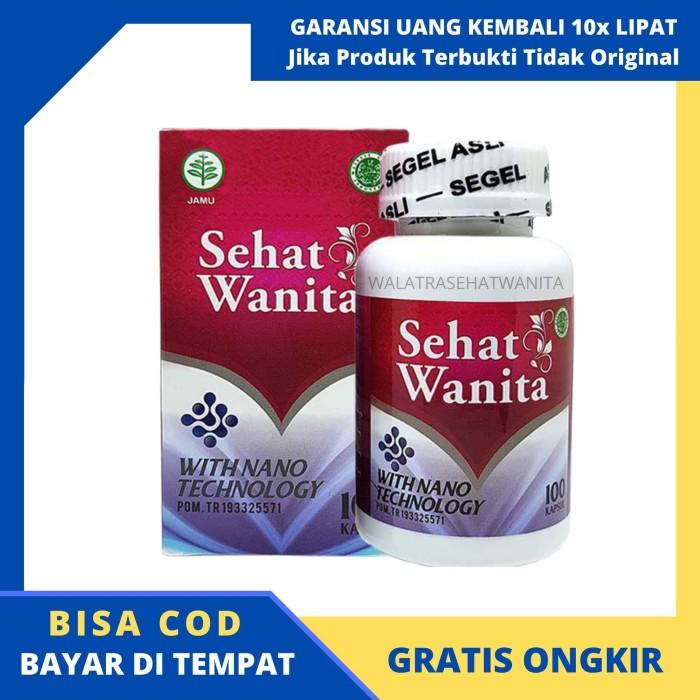 Foto Produk (COD) Walatra Sehat Wanita Asli 100% Herbal Pengganti Bersih Wanita dari sarikurmaqu