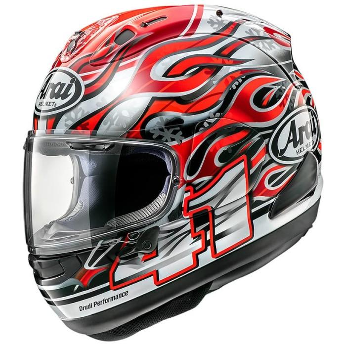 Foto Produk Arai SNI RX7X HAGA Original Helm Full Face - Red - XL dari Arai Indonesia