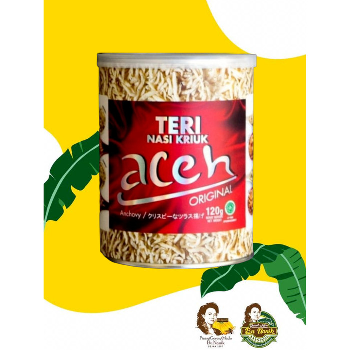 Foto Produk Teri Nasi Kriuk Aceh / Teri Medan Matang Aceh - BALADO dari Rumah Jajan Bu Nanik