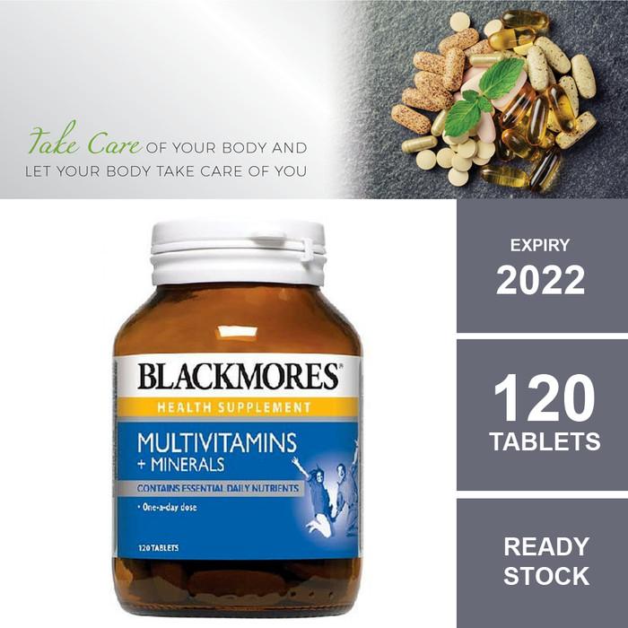 Foto Produk BLACKMORES MULTIVITAMINS + MINERAL , 120 Tablets dari NUTRIHRALTH KIDS