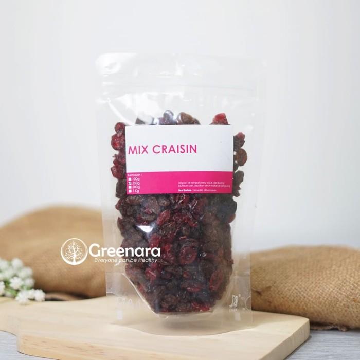 Foto Produk Greenara Craisin 250gr / Mix Dried Cranberry dan Raisin dari greenara.id