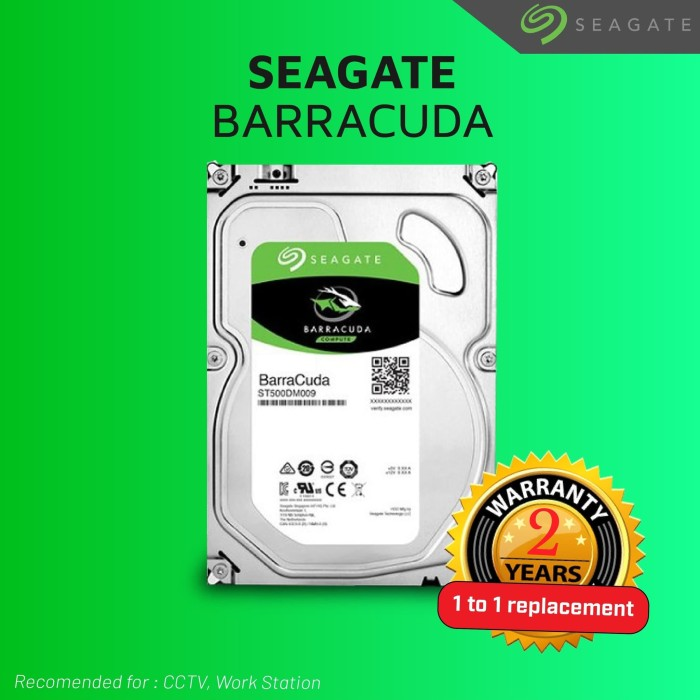 Foto Produk Hard disk Internal Seagate Barracuda 500 GB SATA III 3.5inch for PC dari Jaya Distribusi