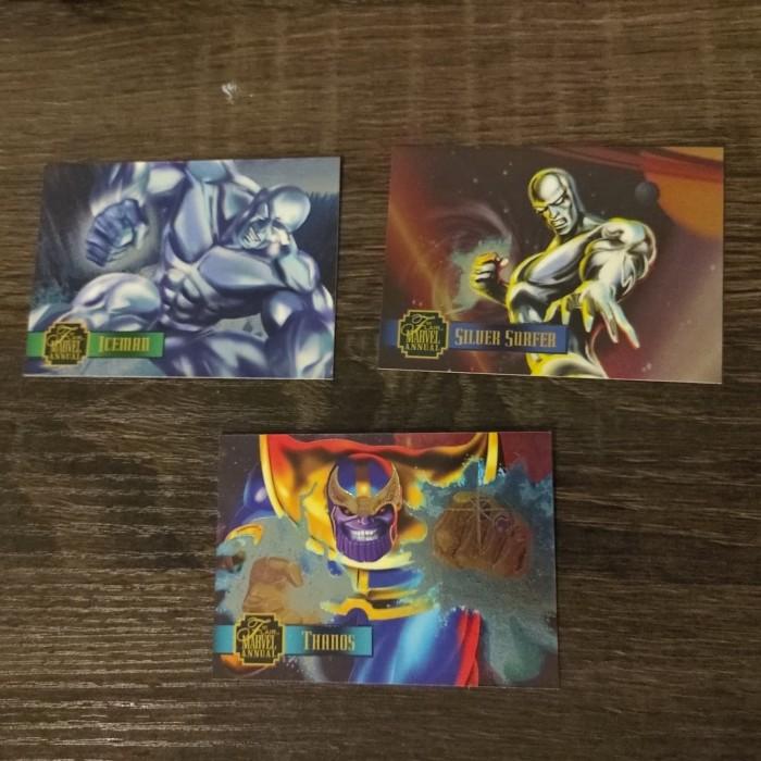 Foto Produk 3 kartu Marvel flair 95 pwrblast dari Charu Toys