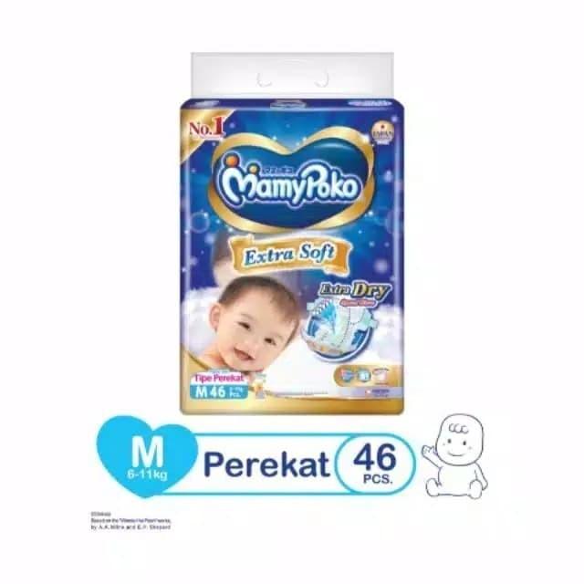 Foto Produk Mamy Poko Extra Dry M 46 dari Nusantara Susu Depok