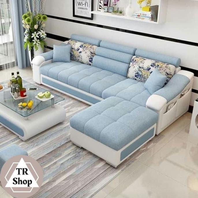 Jual Sofa Rumah Minimalis Mewah Kain Kulit Berkualitas Premium - Jakarta  Barat - Tokomantuljkt | Tokopedia