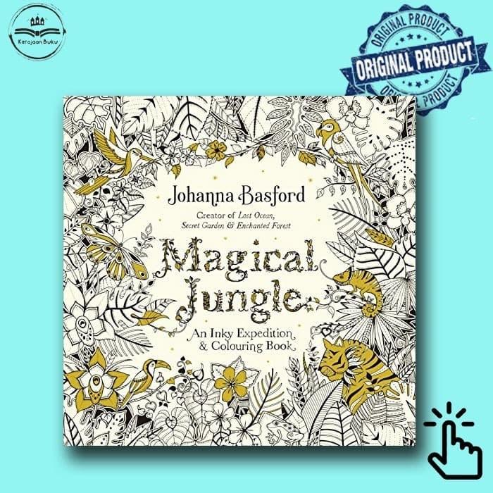 Foto Produk Magical Jungle : An Inky Expedition & Colouring Book dari Kerajaan Buku