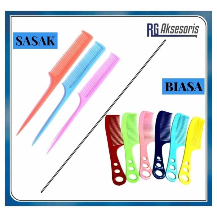 Foto Produk sisir rambut - random, Sisir SASAK dari RG AKSESORIS HP