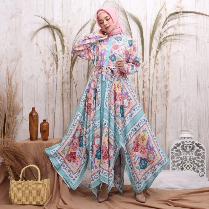 Foto Produk Gamis Paris dress katun rayon(adem.lembut) all size fit to m.L.xL.xxL dari Winnie Collection