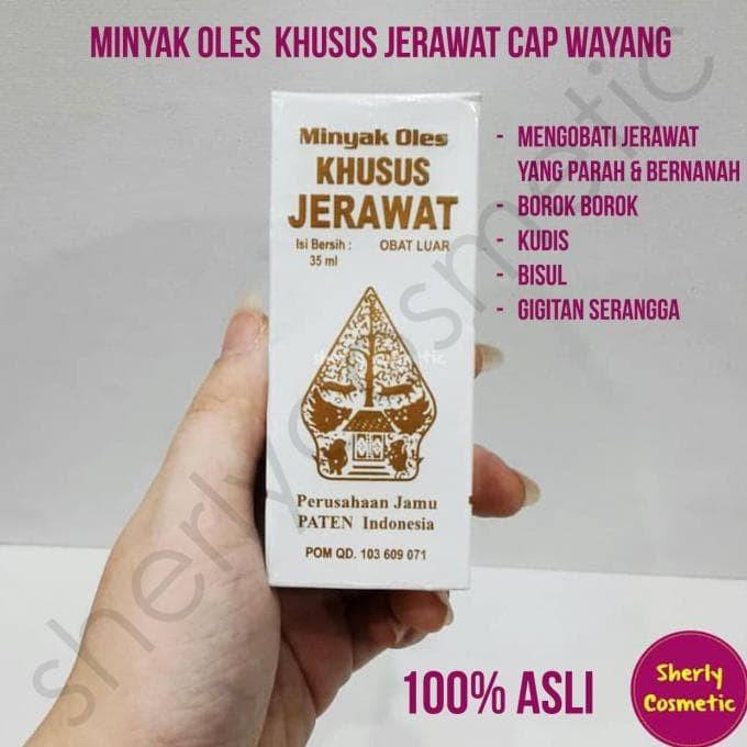 Minyak Oles Khusus Jerawat Cap Wayang Original Bpom Jpg