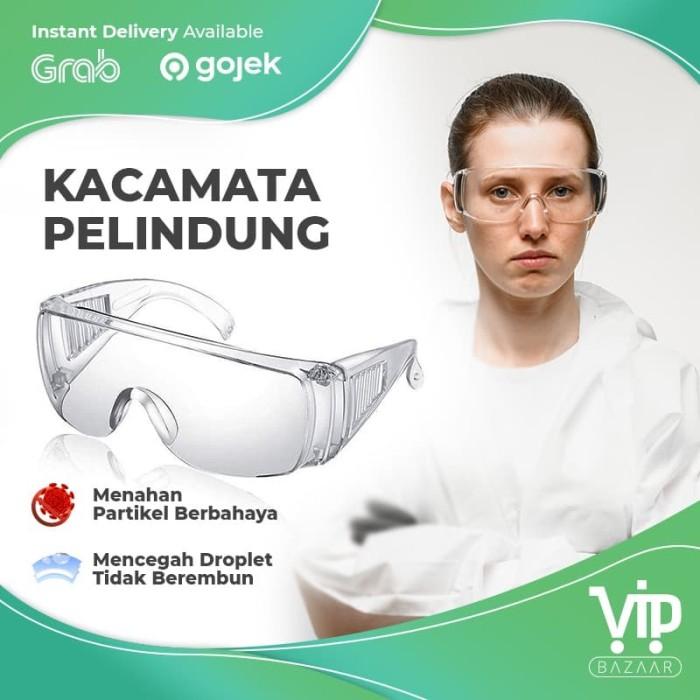 Foto Produk Kacamata goggles / Kacamata Safety Glass / Kacamata Pelindung APD - IMPOR dari VIPBAZAAR