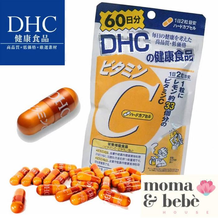Foto Produk DHC Vitamin C - 60 hari (120 caps) - Original Jepang dari Moma & Bebe House